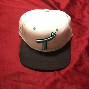 Other - TITS snapback - black/white/teal